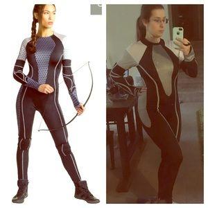 Katniss cosplay suit